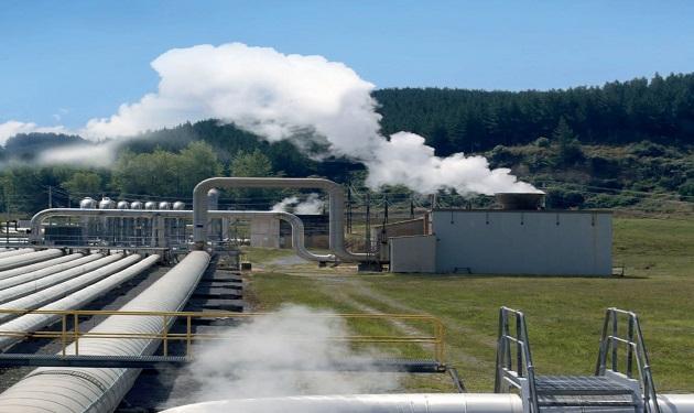 محطة طاقة حرارية أرضية
