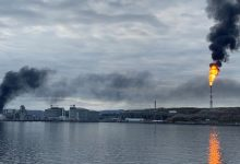 Photo of اشتعال النيران في محطة غاز لشركة إكوينور النرويجية (فيديو)