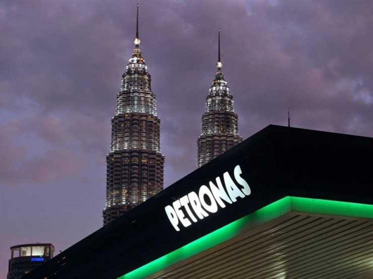 مقر شركة بتروناس الحكومية في العاصمة الماليزية