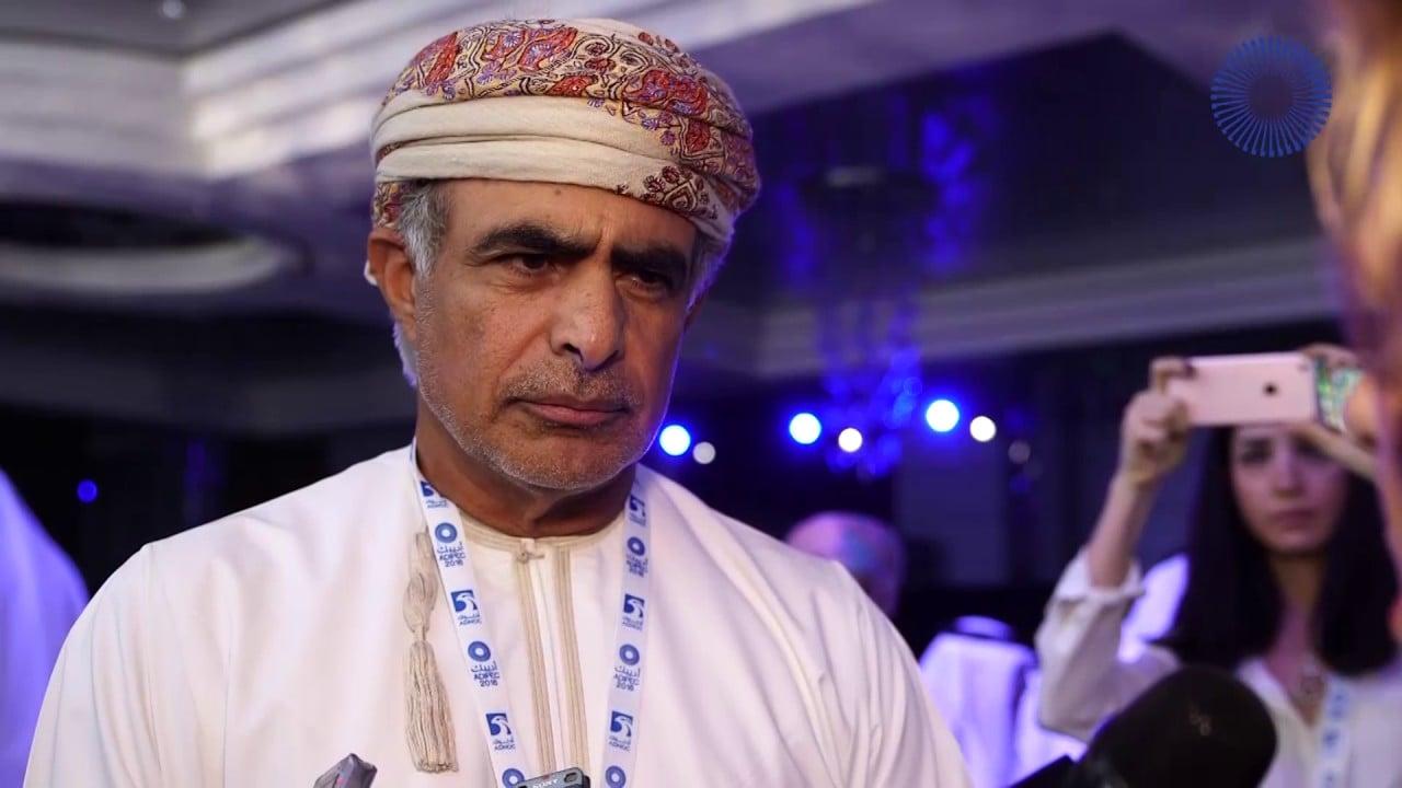 وزير الطاقة العماني محمد بن حمد الرمحي