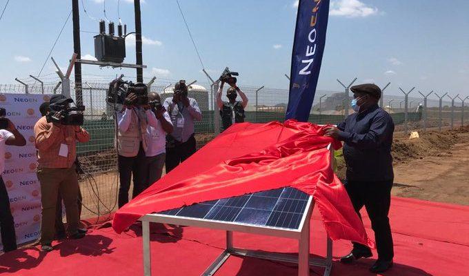 إطلاق مشروع محطة ميتورو للطاقة الشمسية في موزمبيق
