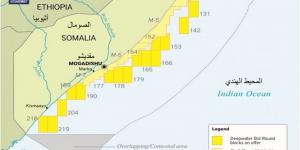 المربعات النفطية في الصومال - عائدات النفط