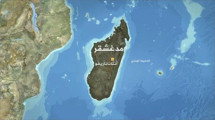خارطة مدغشقر