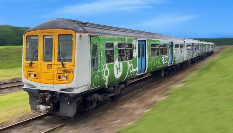 قطار يعمل بالهيدروجين