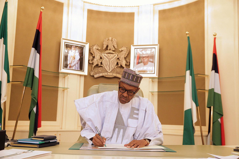 رئيس نيجيريا محمد بخاري