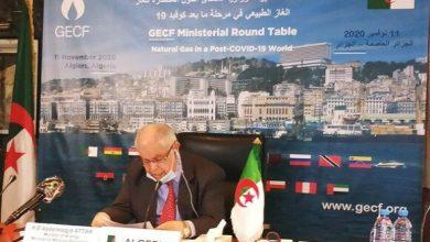 Photo of الجزائر تطالب منتدى مصدّري الغاز بالحذر من تداعيات كورونا