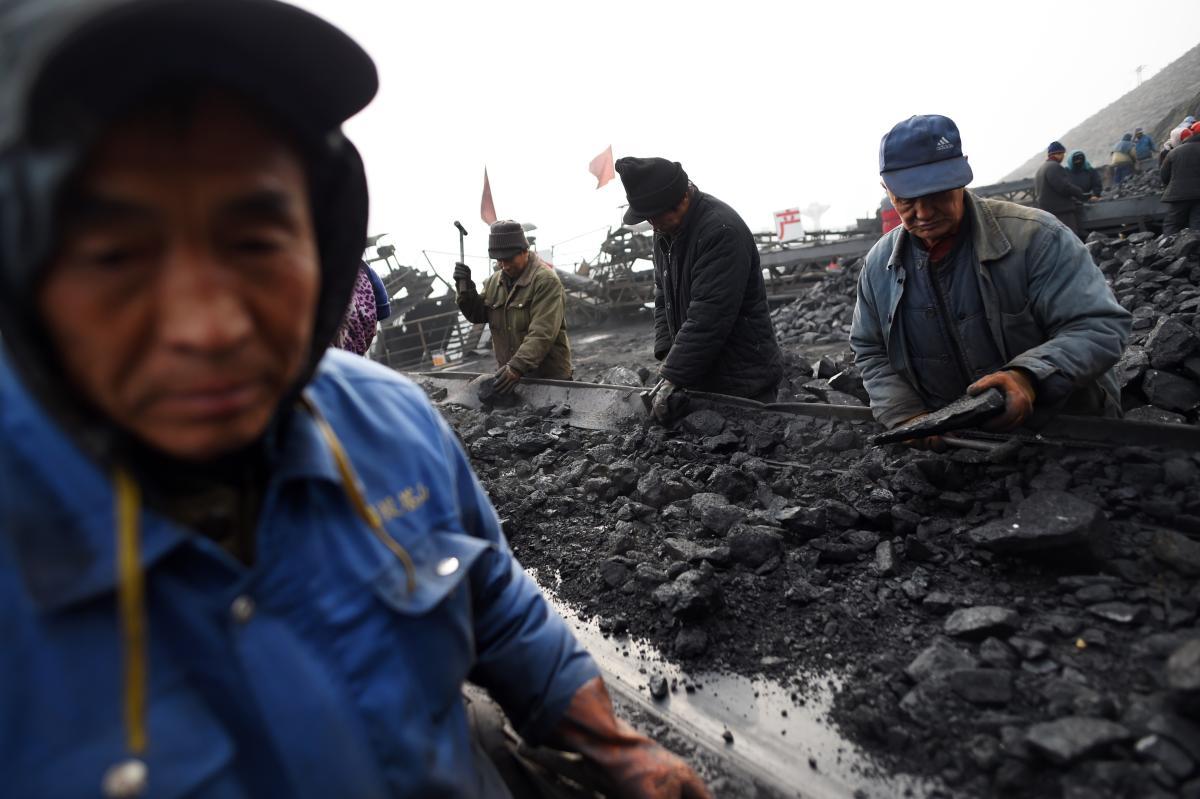 أحد مناجم إنتاج الفحم في الصين