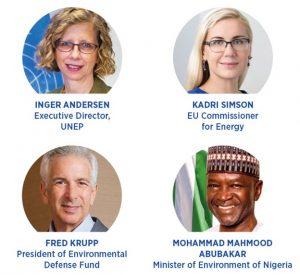قائمة المتحدثين في إطلاق شراكة النفط والغاز والميثان