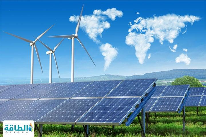 صورة ترمز لمحطات إنتاج الطاقة المتجددة