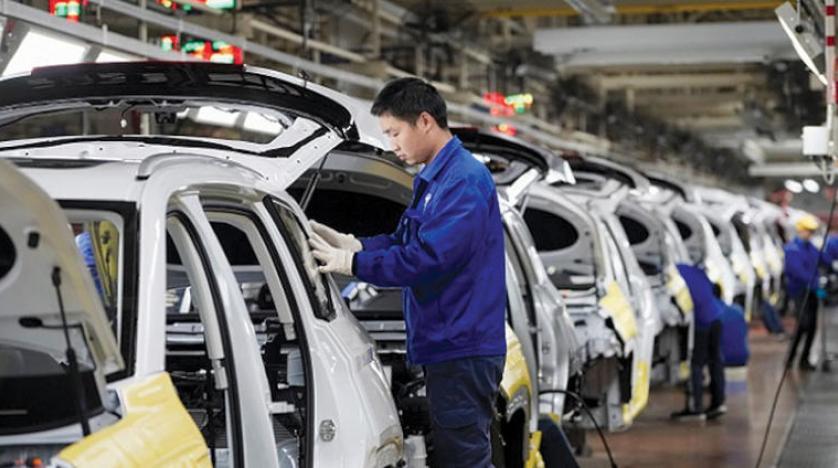 أحد مصانع إنتاج السيارات الكهربائية فى الصين - شاومي