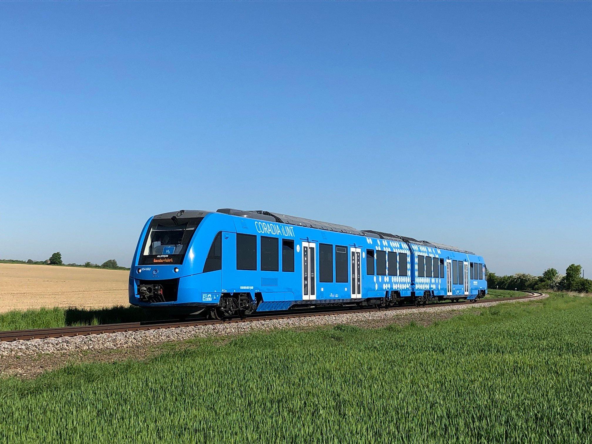 القطار الهيدروجيني