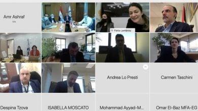 Photo of منتدى غاز شرق المتوسّط.. أوّل اجتماع لمجموعة العمل رفيعة المستوى