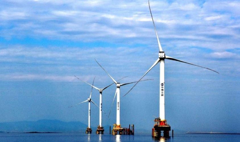 قدرات طاقة الرياح البحرية الأسيوية تتجاوز 6 غيغاواط