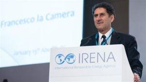 وكالة الطاقة المتجددة - مدير عام الوكالة الدولية للطاقة المتجددة فرانشيسكو لاكاميرا