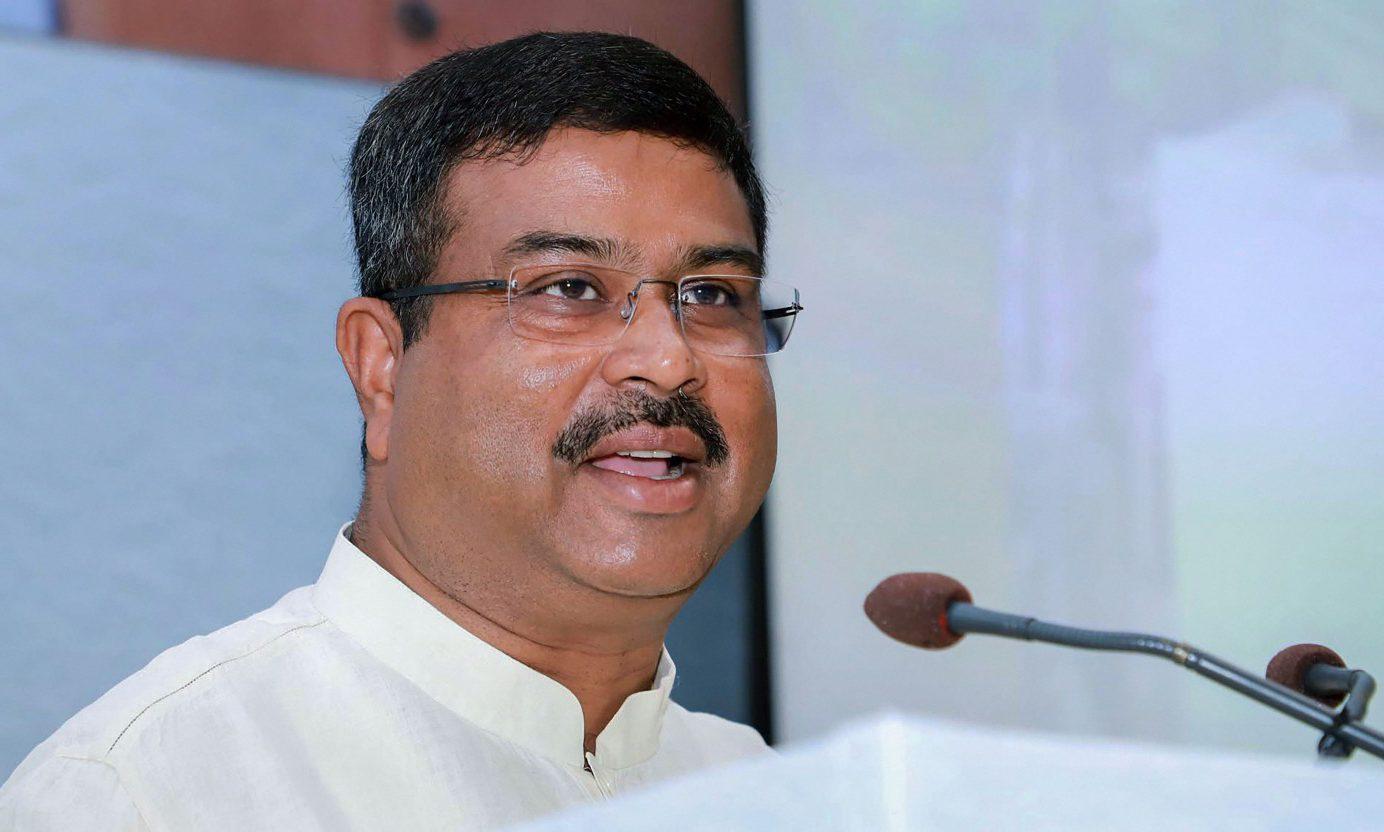 شركة النفط الهندية - وزير النفط الهندي دارميندرا برادان