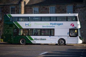 حافلات ذات طابقين تعمل بالهيدروجين في إسكتلندا