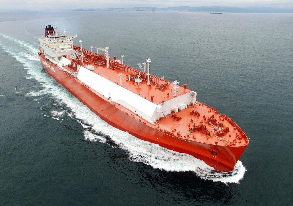 سامسونغ - سفينة شحن غاز طبيعي مسال