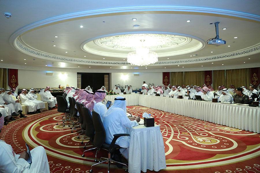 ترشيد استهلاك الطاقة - أحد اجتماعات المركز السعودي لكفاءة الطاقة - الصورة من موقع المركز