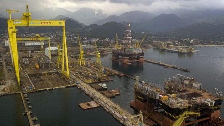 إحدى منصات شركة النفط البرازيلية بتروبراس