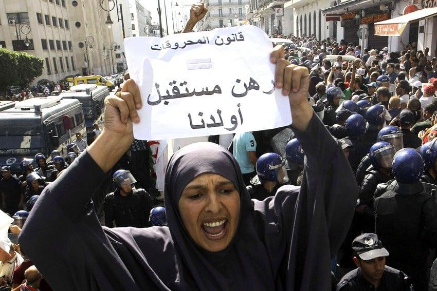 مسؤول جزائري - جانب من مظاهرات الجزائريين عام 2019 رفضًا لقانون المحروقات - أرشيفية