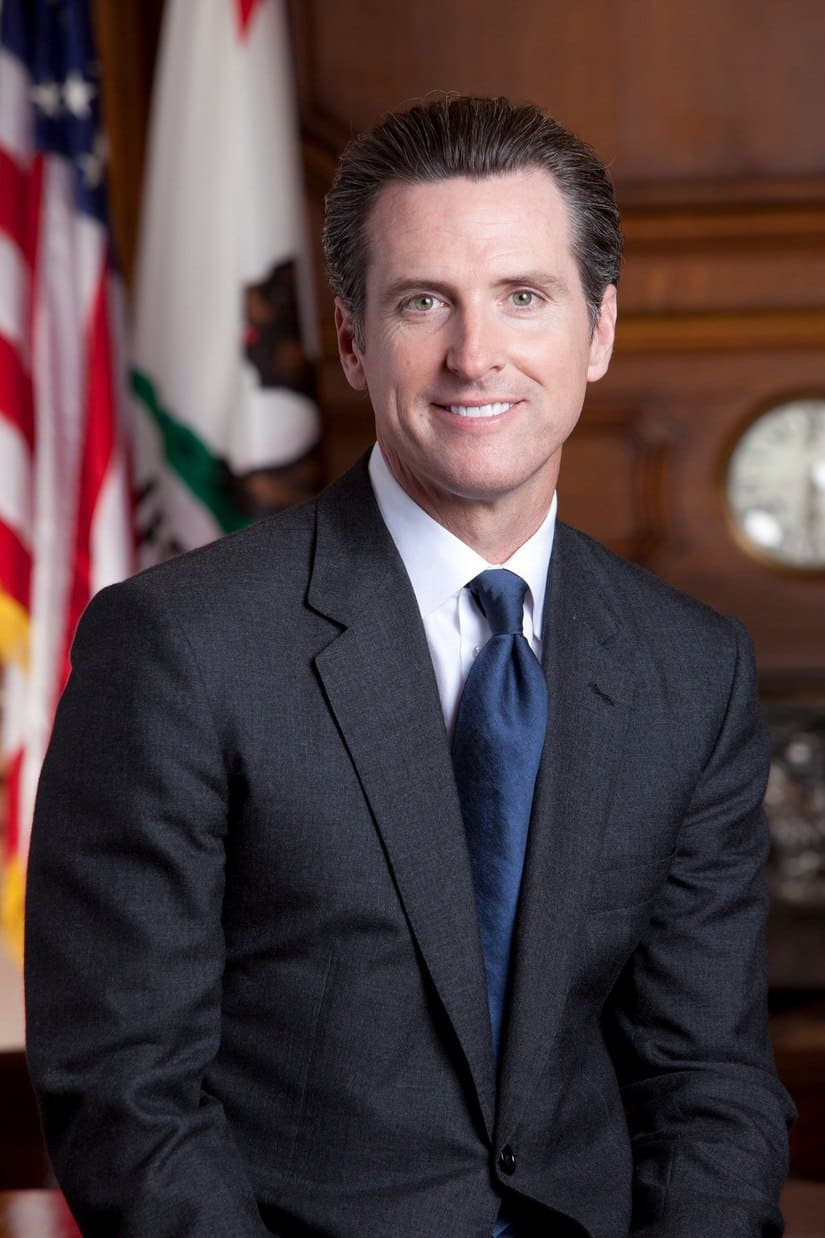 موازنة كاليفورنيا - حاكم ولاية كاليفورنيا - غافن نيوسوم