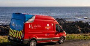 شاحنة هيئة البريد الملكي العاملة بالهيدروجين