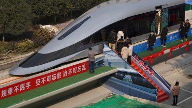 Photo of ماغليف.. قطار صيني يسير بسرعة 620 كيلو مترًا في الساعة