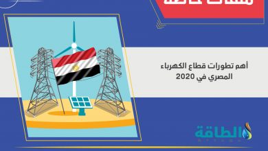 Photo of قدرات مصر الكهربائية تزيد بنسبة 5% في عام 2020