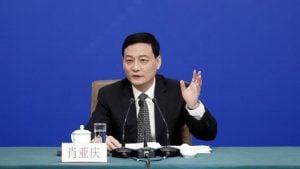 وزير الصناعة وتكنولوجيا المعلومات الصيني - شياو يا كينغ