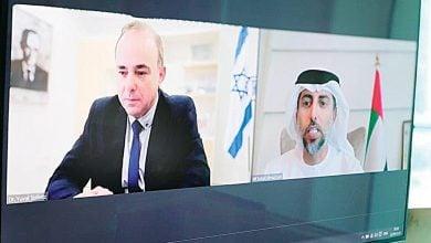 Photo of أوّل اتّفاق بين الإمارات وإسرائيل في مجال الطاقة المتجدّدة