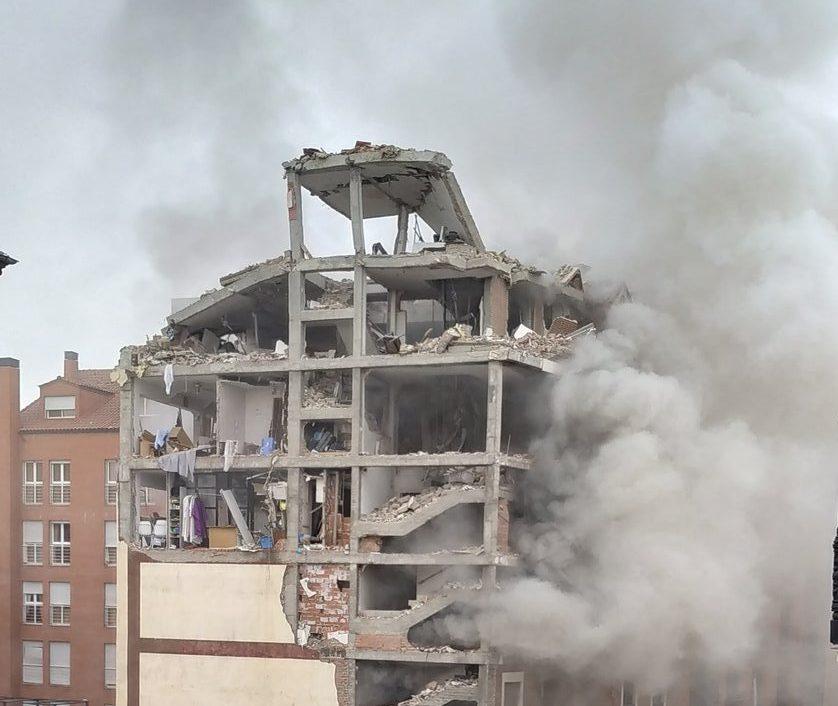 انفجار في مدريد