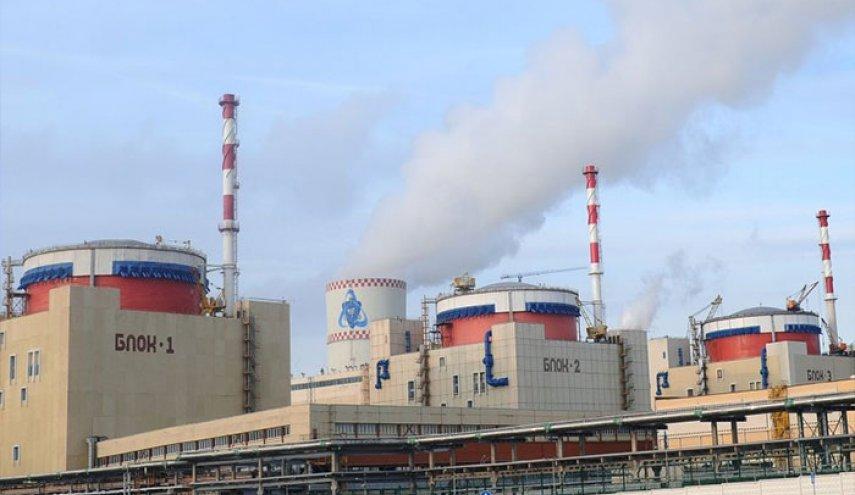محطة طاقة نووية لـ إنتاج الكهراء في روسيا