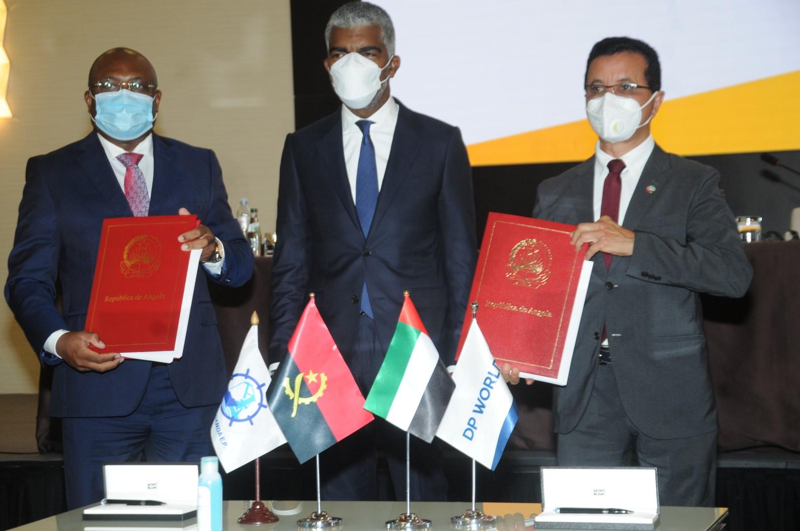 """موانئ دبي توقع عقد إدارة وتشغيل محطة حاويات ميناء """"لواندا"""" في أنغولا"""
