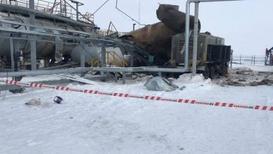 Photo of انفجار خزان داخل منشأة نفطية في تتارستان