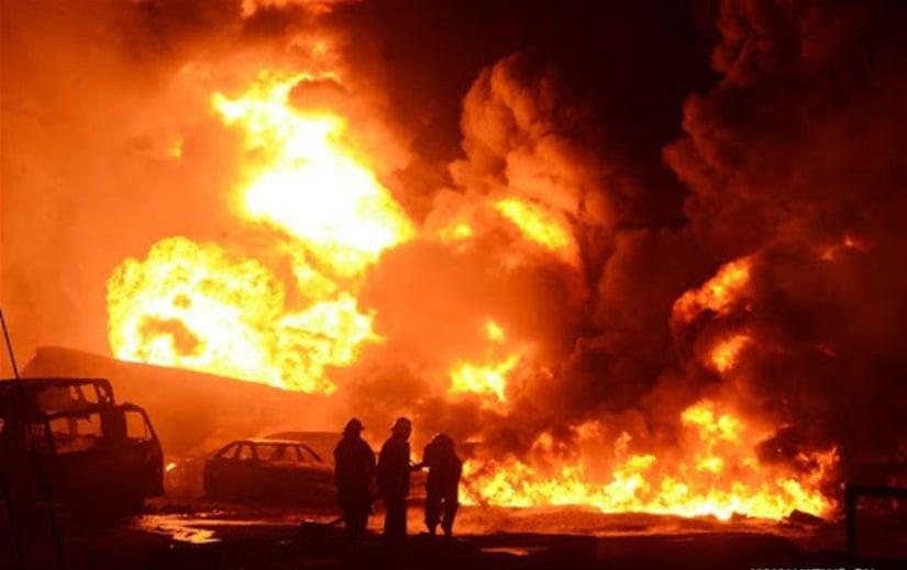 انفجار شاحنة وقود في نيجيريا