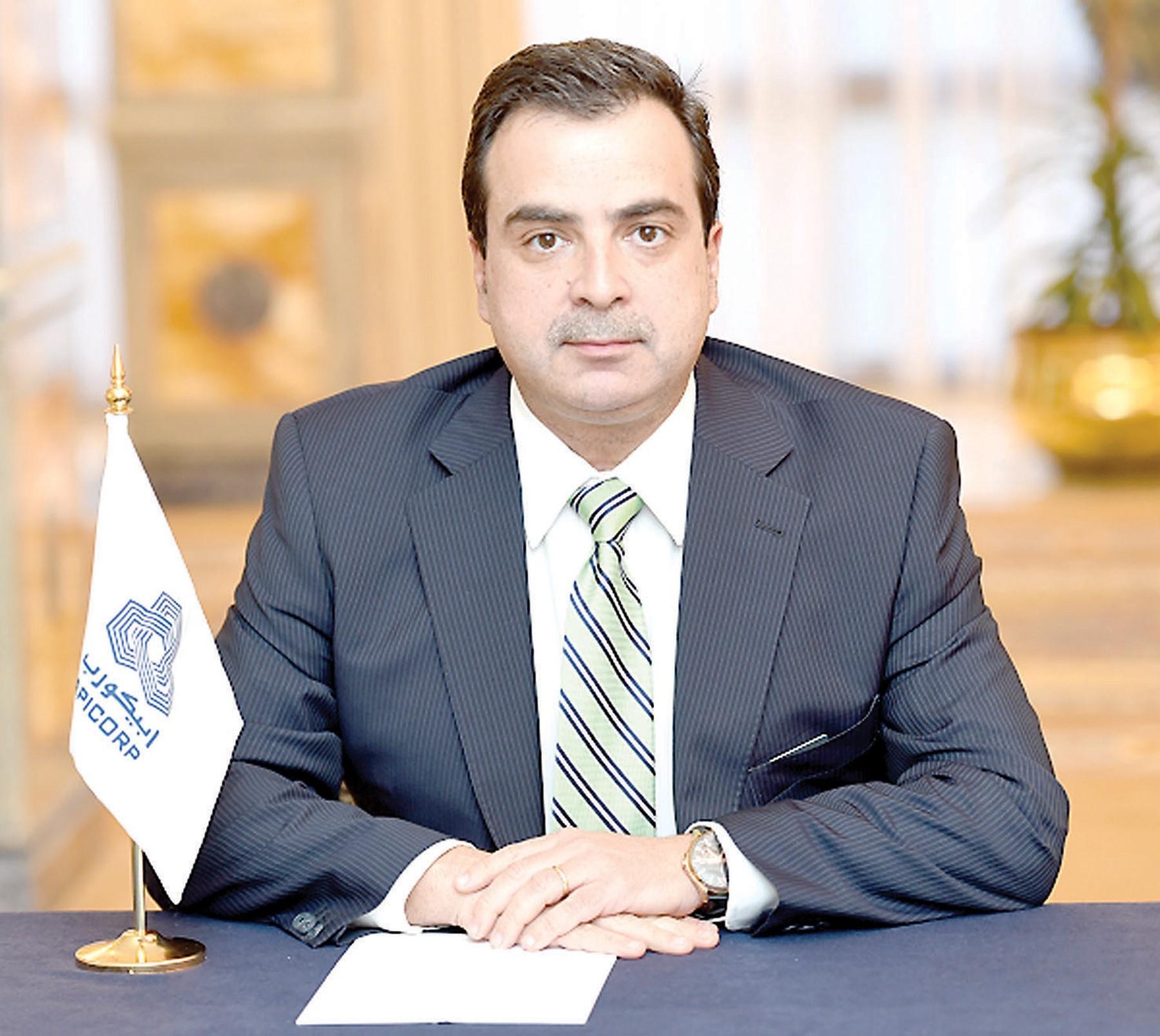الرئيس التنفيذي لشركة أبيكورب أحمد علي عتيقة