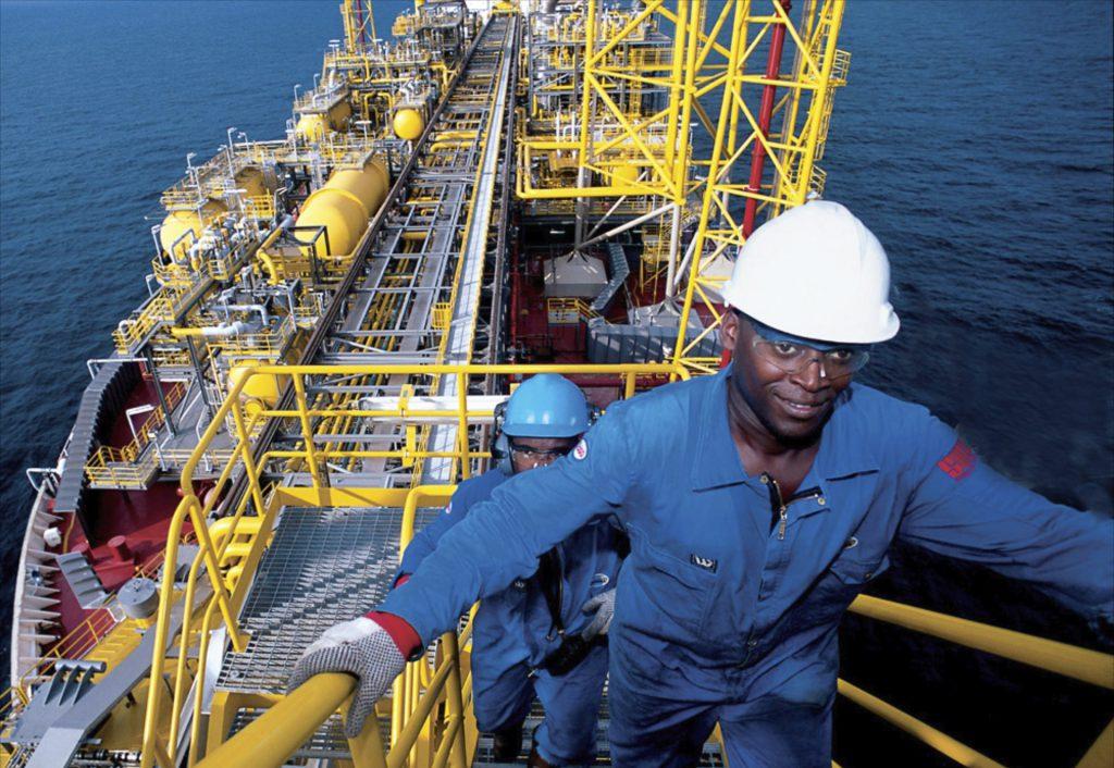 البحث عن النفط والغاز في أنغولا- شركة النفط