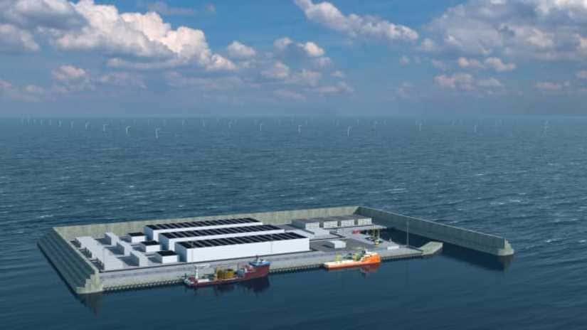 جزيرة الطاقة الدنماركية - جزيرة اصطناعية في الدنمارك