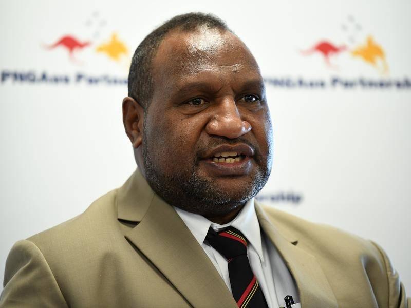 رئيس وزراء بابوا غينيا الجديدة جيمس مارب