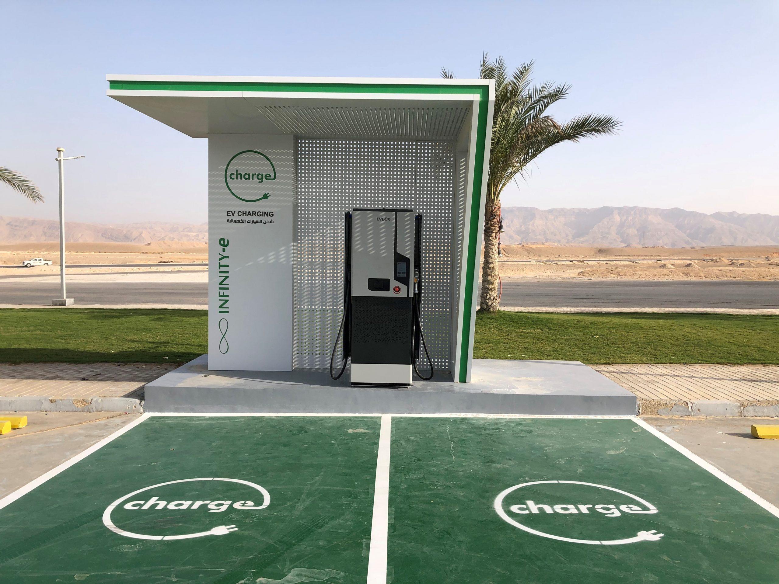 محطات شحن السيارات الكهربائية