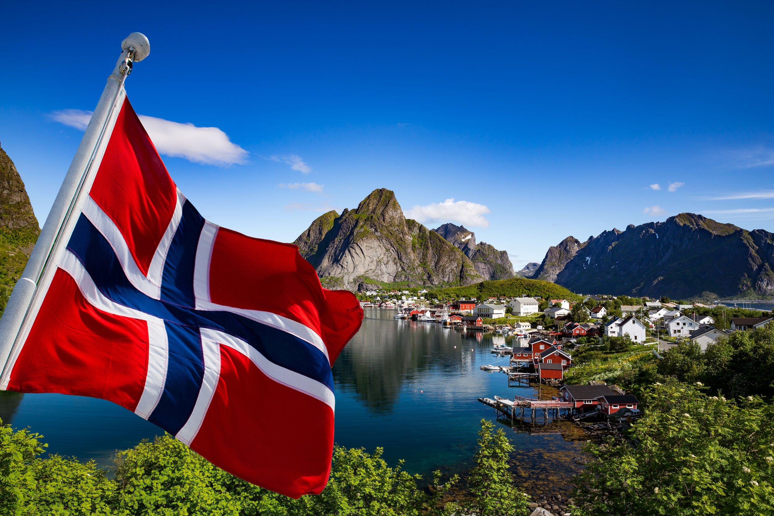 صورة ترمز لعلم النرويج