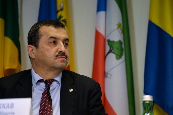 وزير الطاقة الجزائري محمد عرقاب