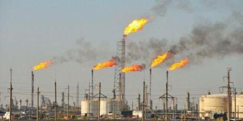 حرق الغاز في نيجيريا