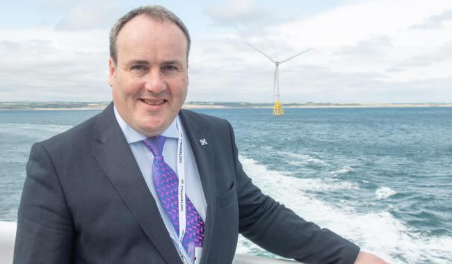 تعاون فرنسي إسكتلندي في طاقة الرياح والهيدروجين