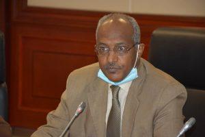وكيل قطاع النفط بوزارة الطاقة السودانية حامد سليمان