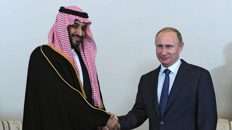ولي العهد السعودي وبوتين - أرشيفية