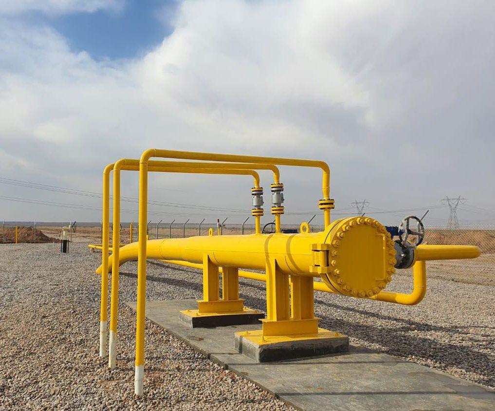 مشروع أنبوب نقل الغاز إلى محطة كهرباء القيارة