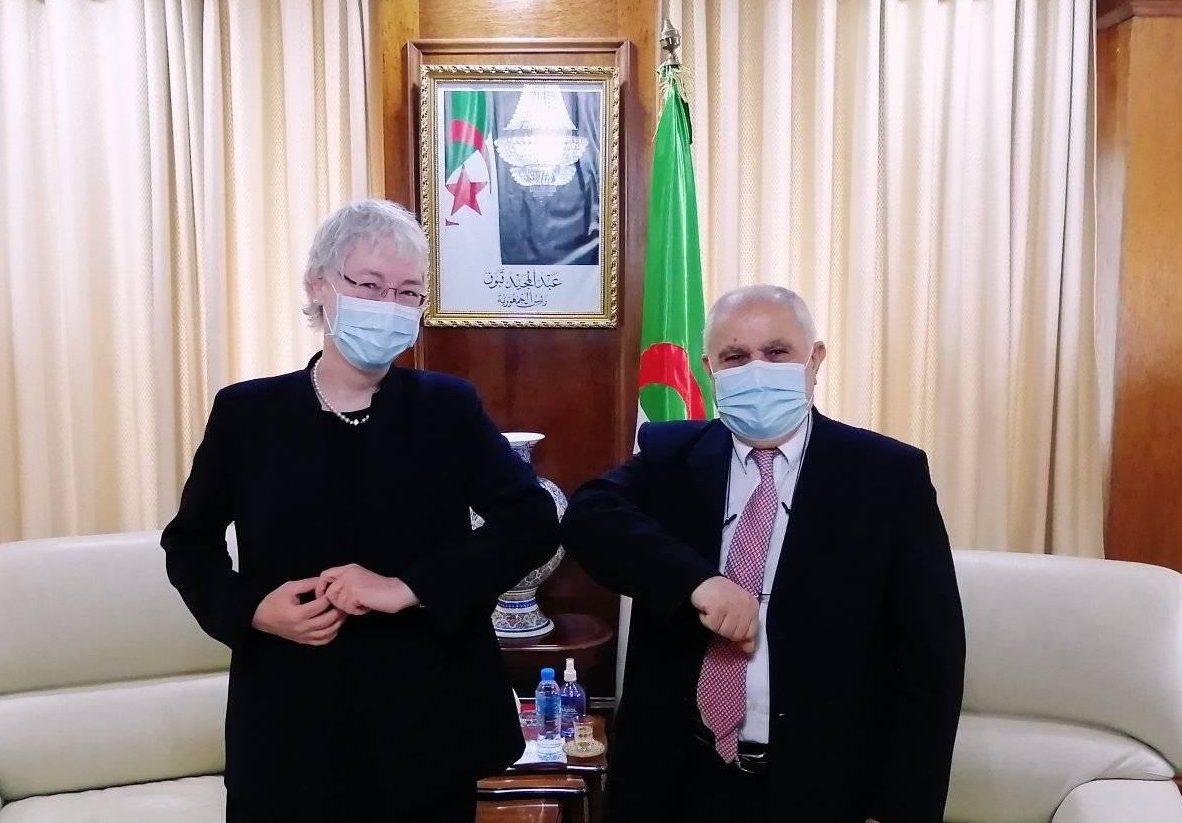 وزير الطاقة الجزائري