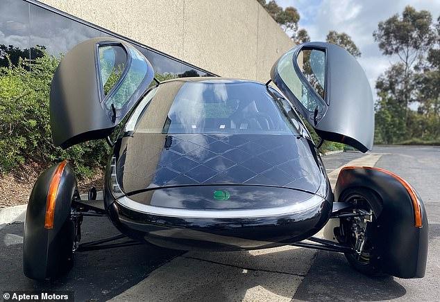 سيارة أبتيرا الشمسية
