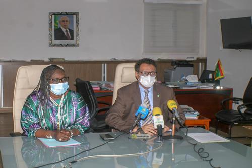 اجتماع بين موريتانيا والسنغال